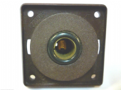 BERKER ELECTRICAL 12V  SINGLE POLE SOCKET WITH FRAME